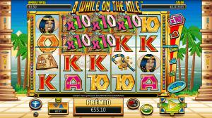 Slot machine A While On The Nile