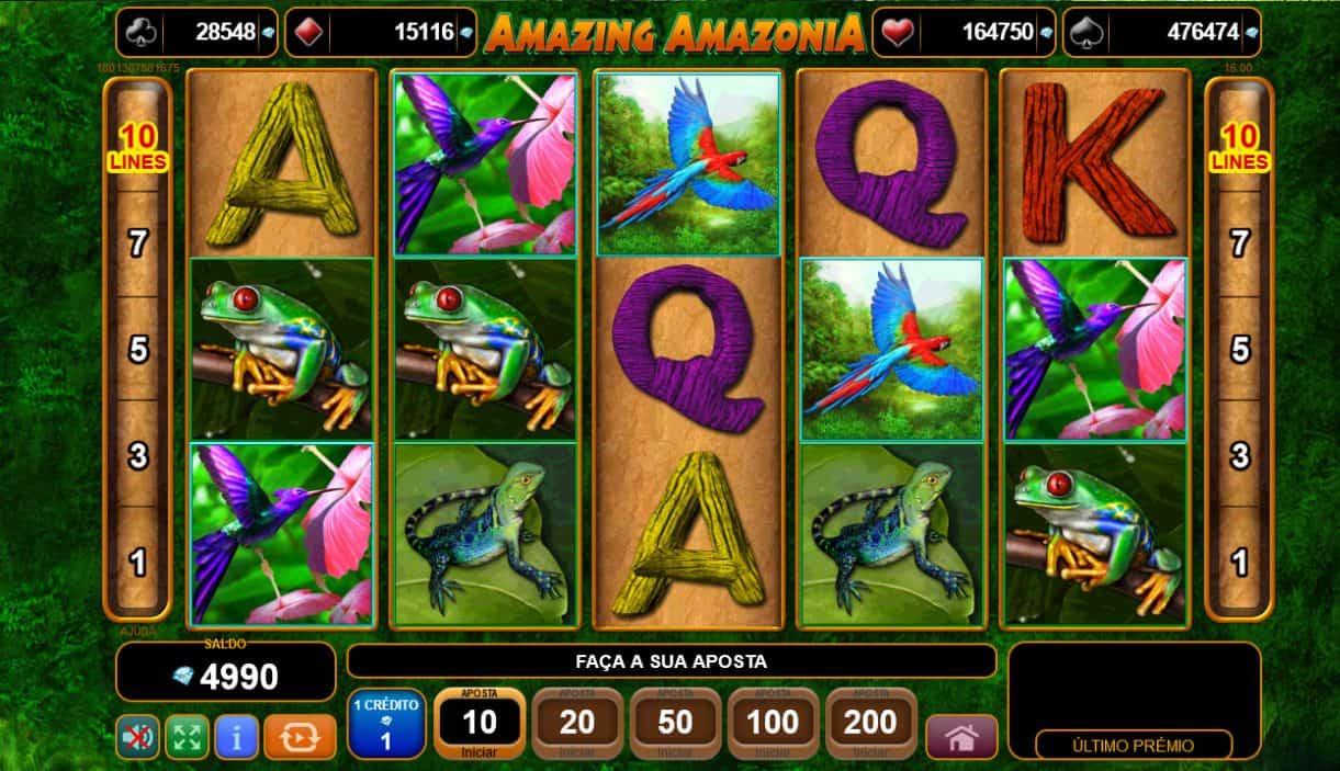Amazonia Slot Machine