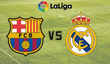 Barcelona - Real Madrid La Liga 2018
