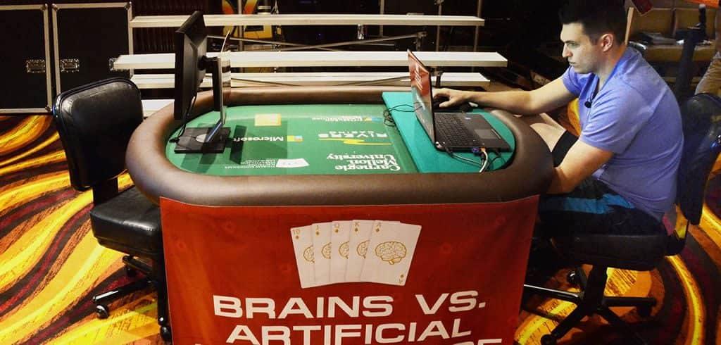 Brains Vs AI poker tournament