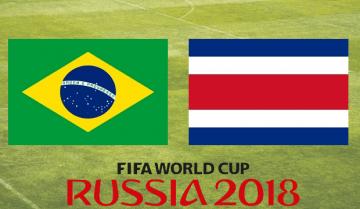 Brasil - Costa Rica Mundial 2018