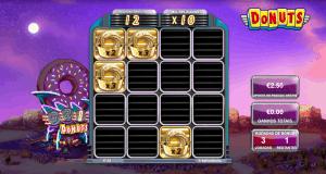Slot machine Donuts em modo bónus