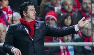 Rui Vitória, técnico Benfica
