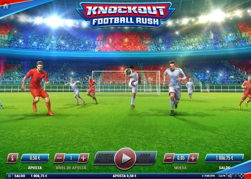 Knockout Football Rush Slot Machine