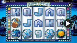 Slot machine Platinum Pyramid