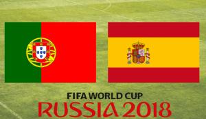 Portugal - Espanha Mundial 2018