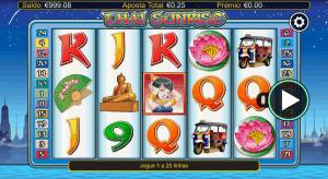 Slot machine Thai Sunrise