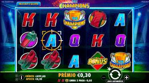 The Champions slot machine