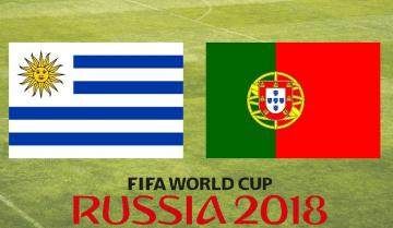 Uruguai Portugal Mundial 2018